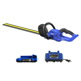 Kobalt 24-Volt Max 24-in Dual Cordless Electric Hedge Trimmer (Battery Included)