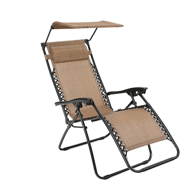 Remarkable Metal Stationary Zero Gravity Chair S With Brown Sling Seat Machost Co Dining Chair Design Ideas Machostcouk