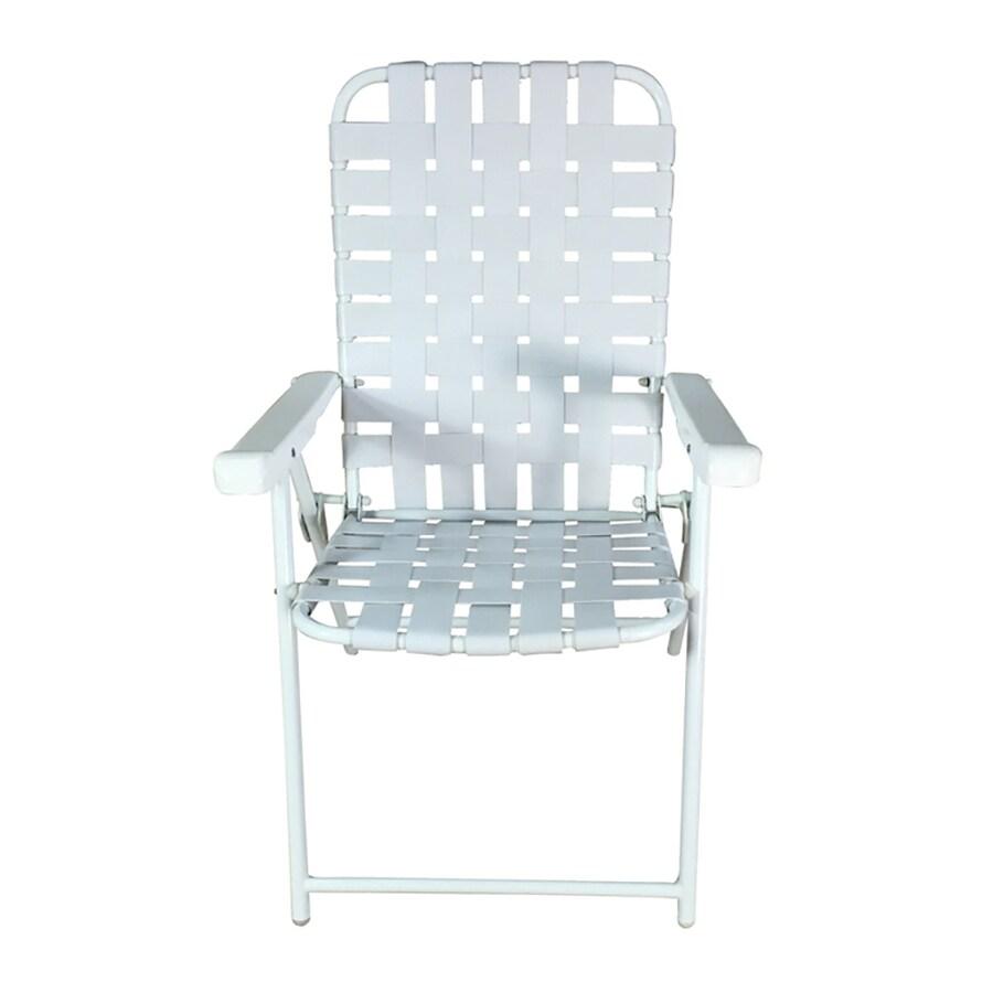 Garden Treasures Steel Folding Patio Conversation Chair