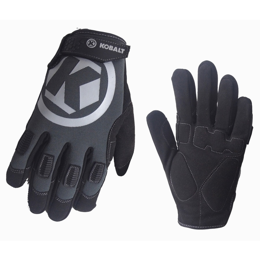 Shop Kobalt Medium Unisex Synthetic Leather Work Gloves At