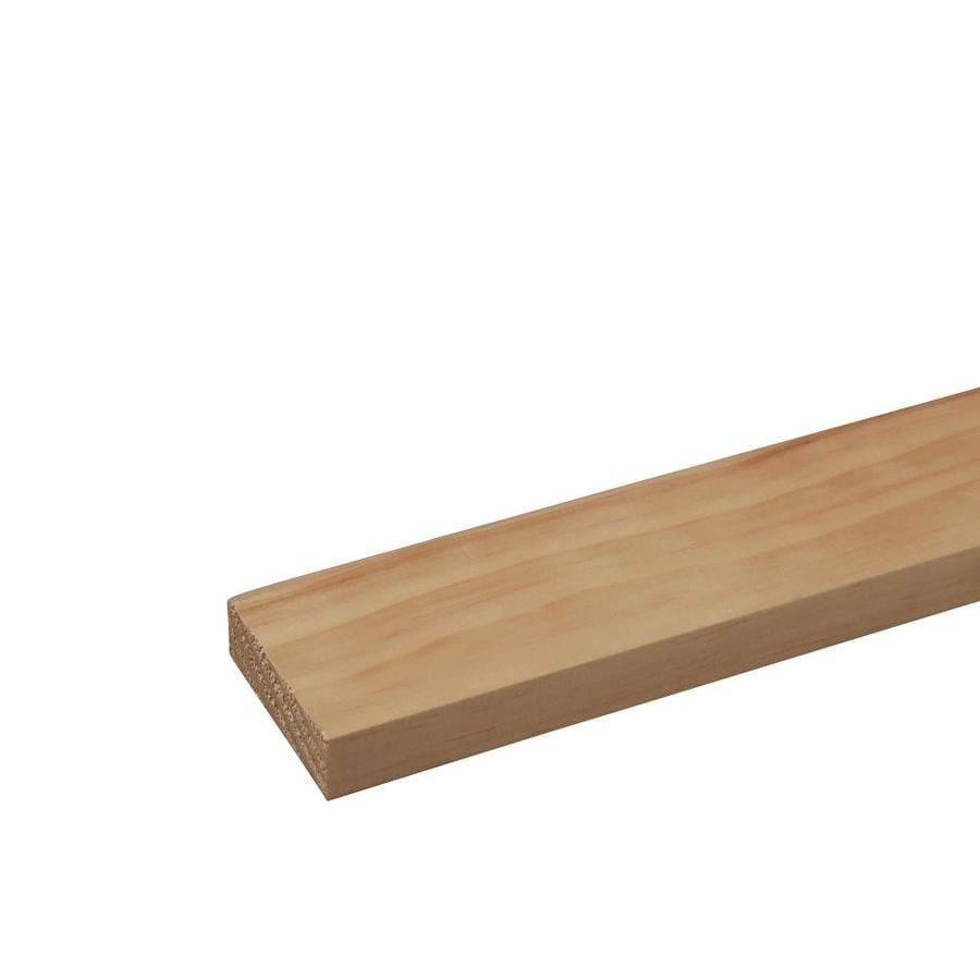 (Common: 1-in x 3-in x 4-ft; Actual: 0.75-in x 2.5-in x 4-ft) Pine Board