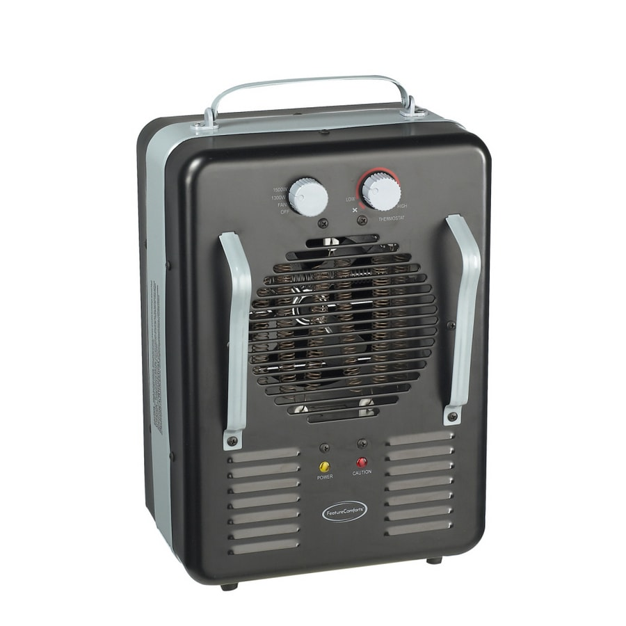 Shop Feature Comforts Electric Utility Heater with Thermostat at