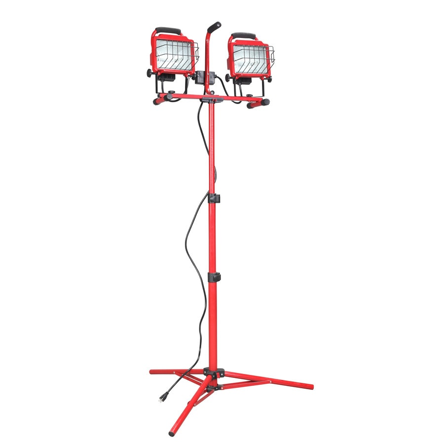 Shop Utilitech Halogen Stand Work Light At Lowes.com