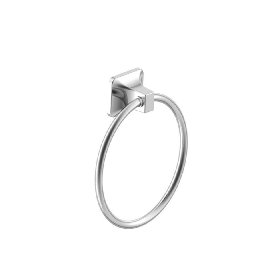 Project Source Seton Polished Chrome Wall Mount Towel Ring