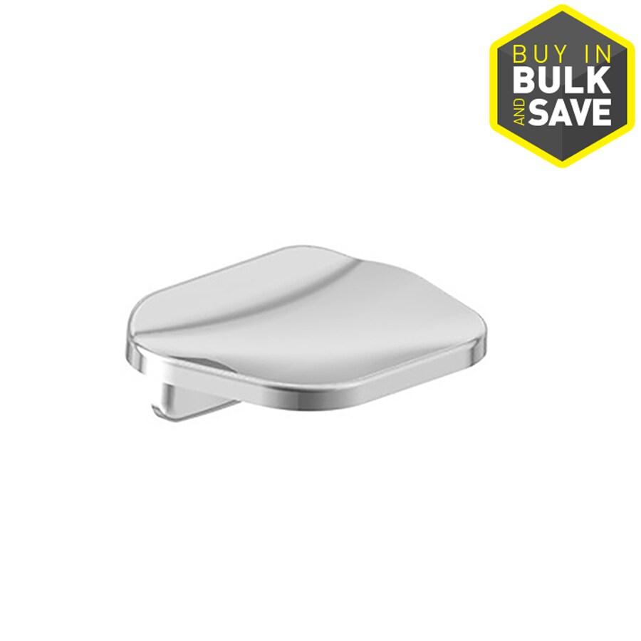 Project Source Seton Polished Chrome Zinc Soap Dish