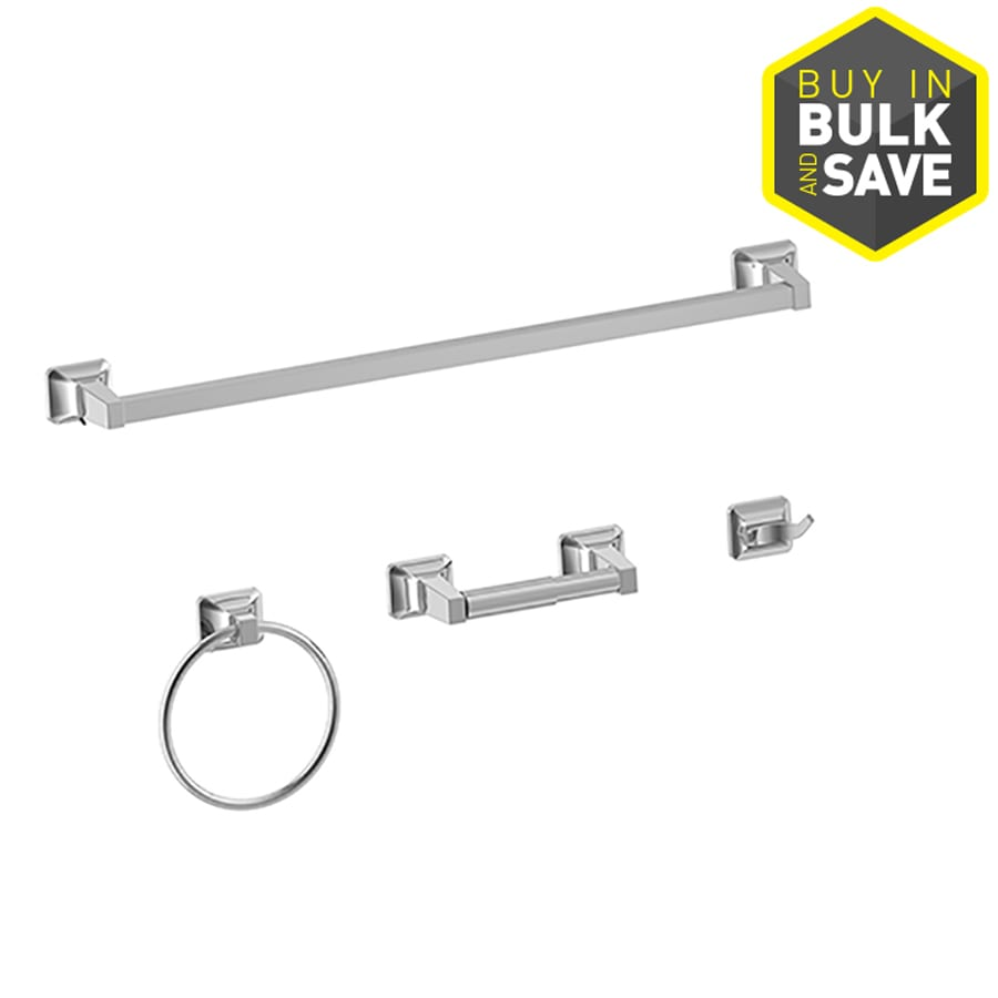 Shop Project Source Piece Seton Polished Chrome Decorative - Where to buy bathroom hardware
