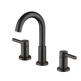 Jacuzzi Duncan Oil-Rubbed Bronze 2-handle Widespread WaterSense Bathroom Sink Faucet with Drain