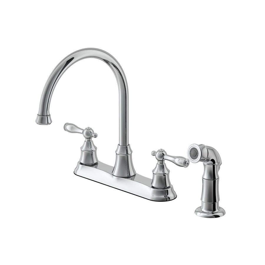Aquasource Stainless Steel 2 Handle Pull Out Kitchen