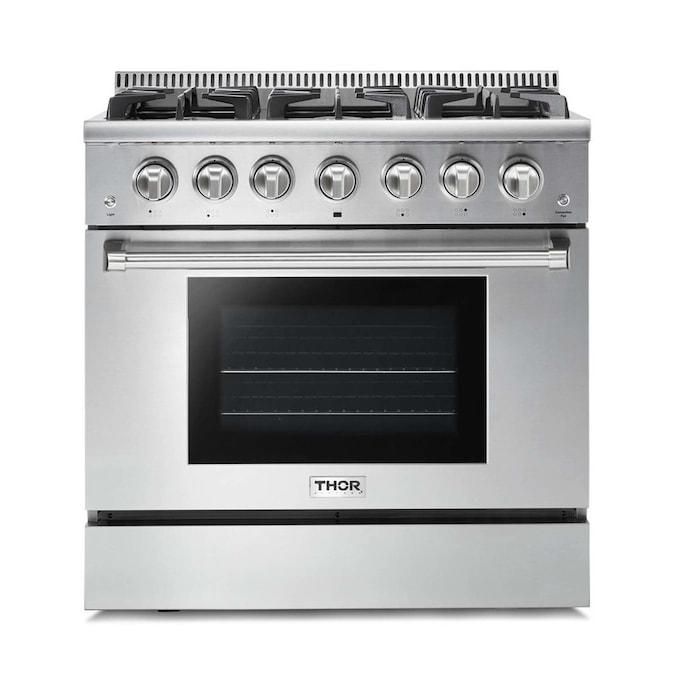 Thor Kitchen HRG3618U Professional Gas Range