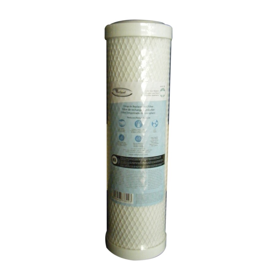 Shop whirlpool 10 in under sink replacement filter at - Lowes water filter under sink ...