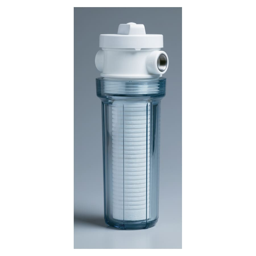 Whirlpool Valve-In-Head Clear with Sediment Filter