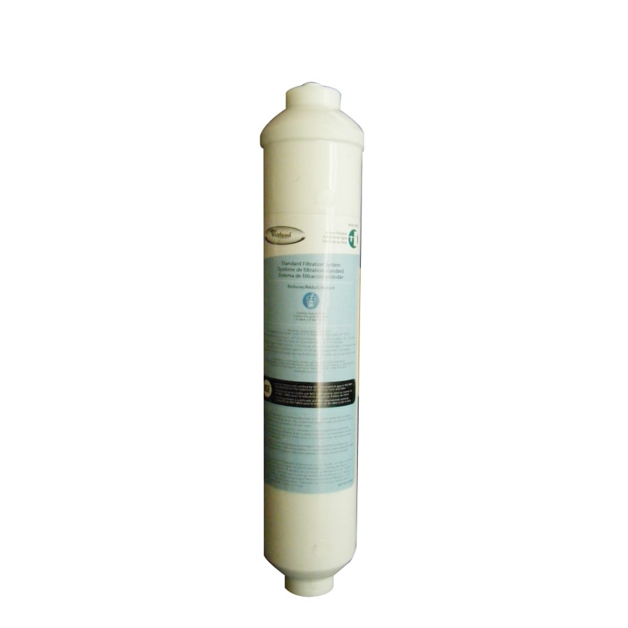 Whirlpool Refrigerator Water Filters Lowes Shop Whirlpool 6 Month Refrigerator Water Filter At Lowescom