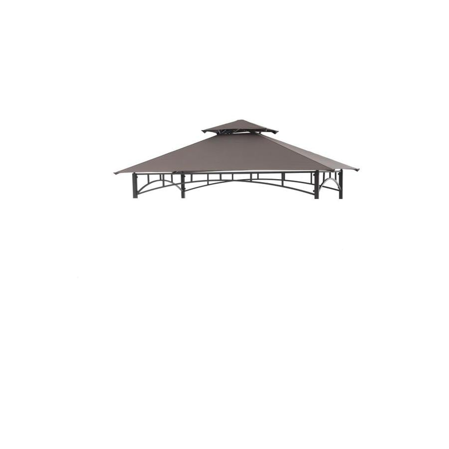 Sunjoy Brown Gazebo Replacement Canopy Top  sc 1 st  Loweu0027s : canopy top replacement - memphite.com