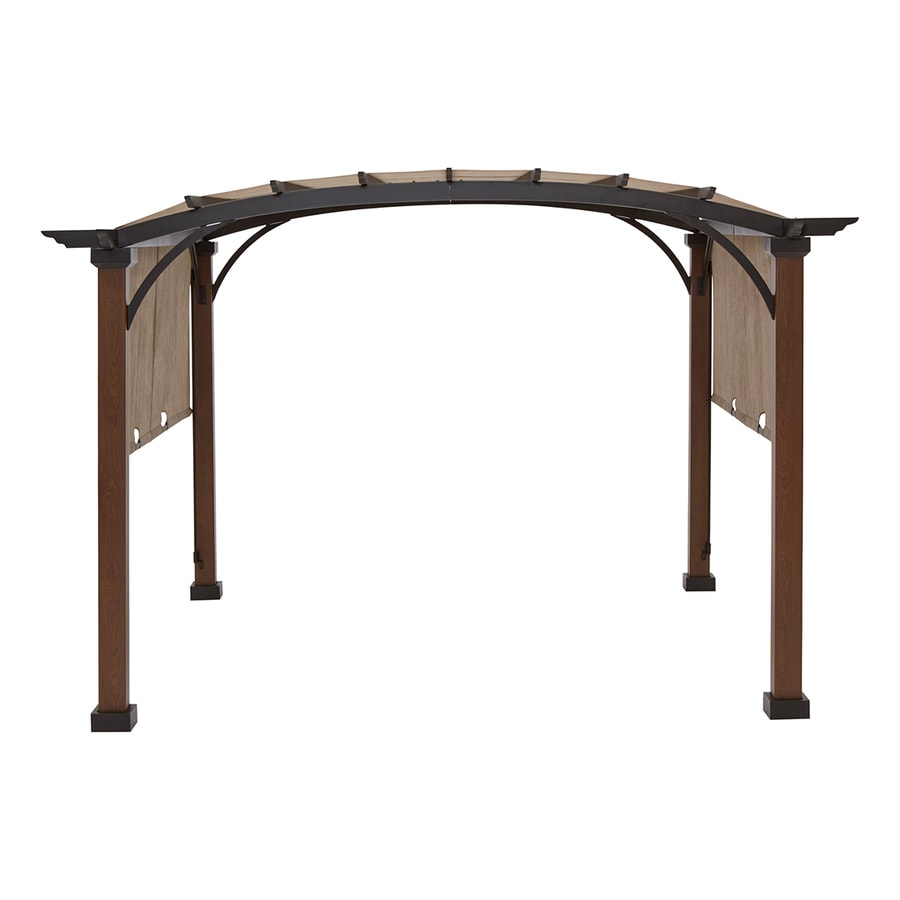 Display product reviews for 116.14-in W x 116.14-in L x 94.3-  sc 1 st  Loweu0027s & Shop Pergolas at Lowes.com