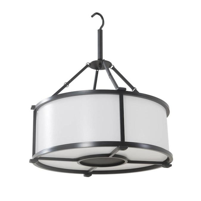 Allen Roth Light Black Modern Contemporary Chandelier In The Chandeliers Department At Lowes Com