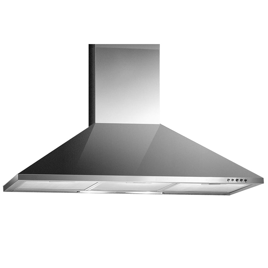 Arda Ducted Wall-Mounted Range Hood (Stainless-Steel) (Common: 36-in; Actual: 35.5-in)