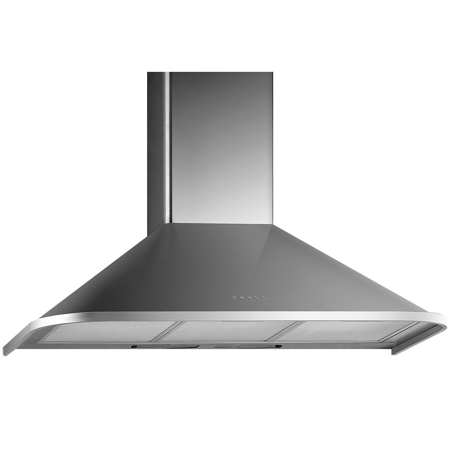 Arda Ducted Wall-Mounted Range Hood (Stainless-Steel) (Common: 36-in; Actual 35.5-in)