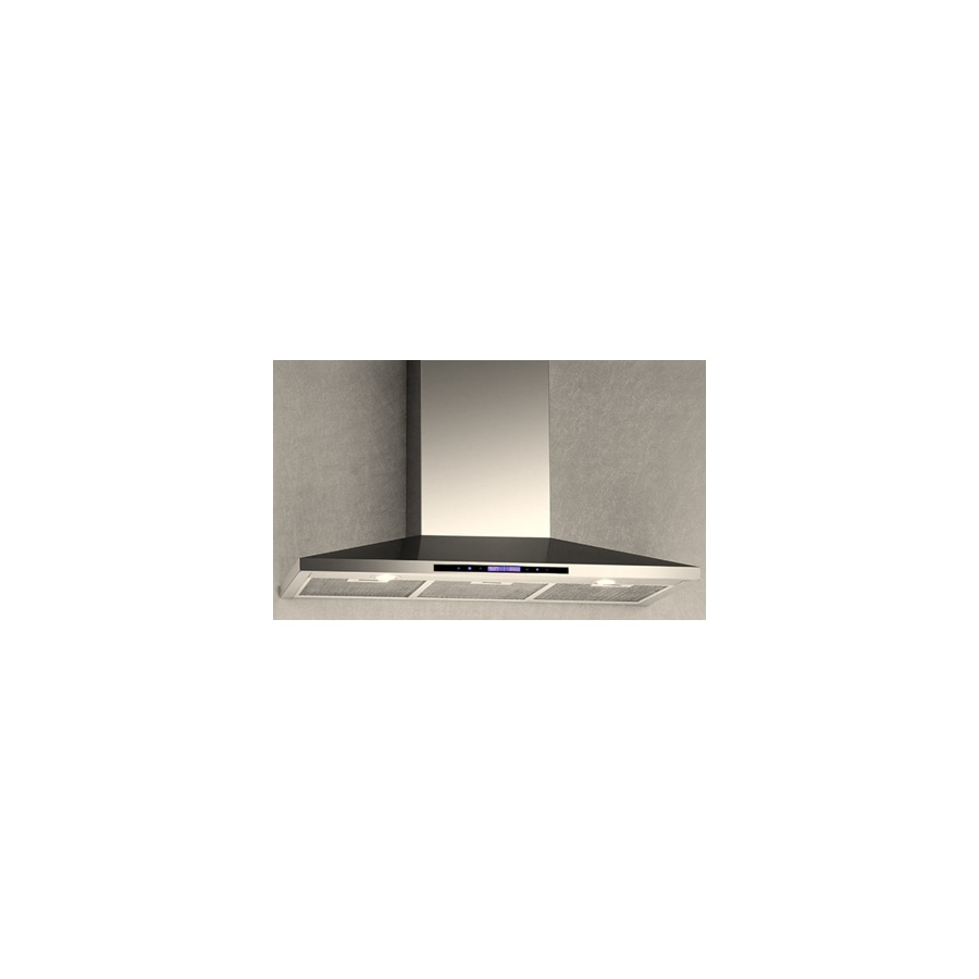 Arda Convertible Wall-Mounted Range Hood (Stainless Steel) (Common: 36-in; Actual: 35.5-in)