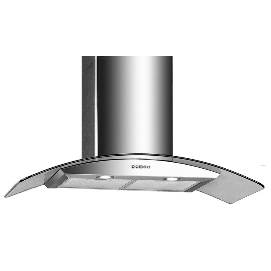 Arda Ducted Wall-Mounted Range Hood (Stainless-Steel) (Common: 30-in; Actual: 30-in)