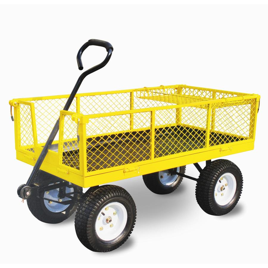 Shop 468 Cu Ft Steel Yard Cart at Lowescom