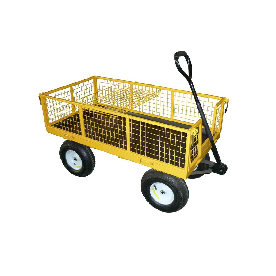 Garden Plus 6-cu ft Steel Yard Cart