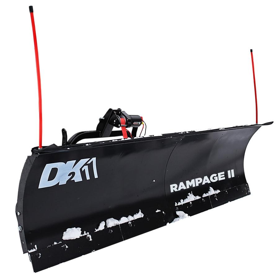 Detail K2 Rampage 82-in W x 19-in H Steel Snow Plow