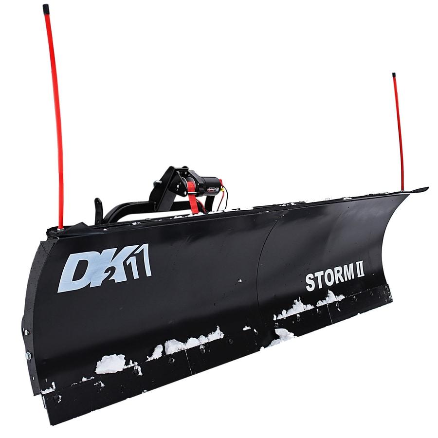 Detail K2 Storm 84-in W x 22-in H Steel Snow Plow