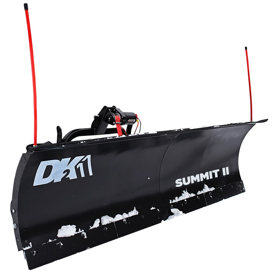 Detail K2 Summit 88-in W x 26-in H Steel Snow Plow