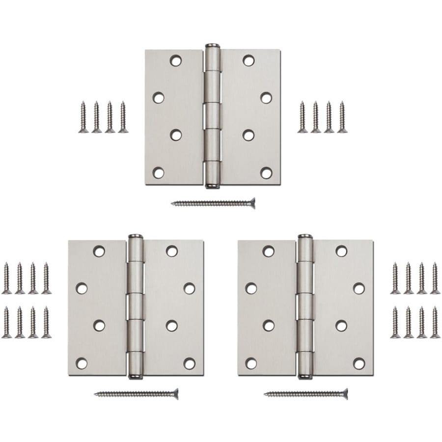 Gatehouse Satin Nickel Door Hinge