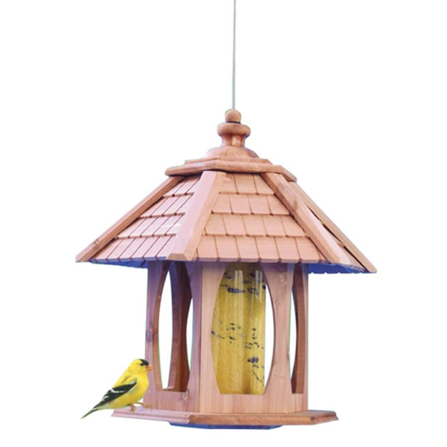 Merveilleux Garden Treasures Garden Treasures Cedar Platform Bird Feeder