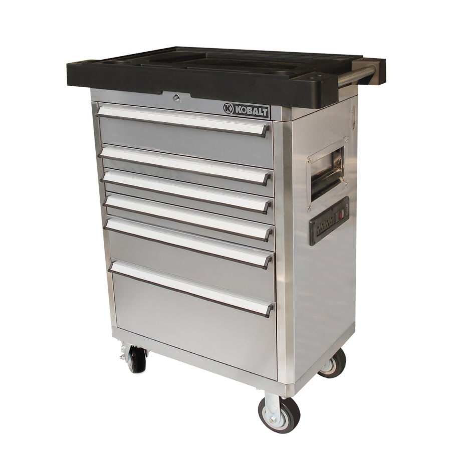 Kobalt 24-in x 27-in 6-Drawer Tool Cabinet at Lowes.com