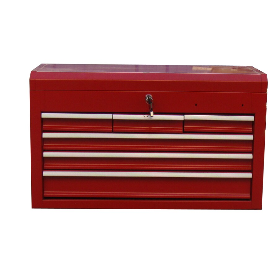 "Task Force 26"" Powder Coated 6-Drawer Tool Chest"