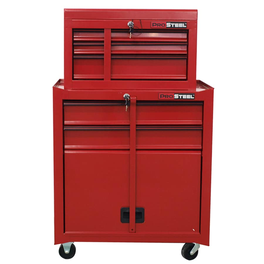 Exceptionnel ProSteel 47.9 In X 26.6 In 5 Drawer Friction Steel Tool Cabinet (