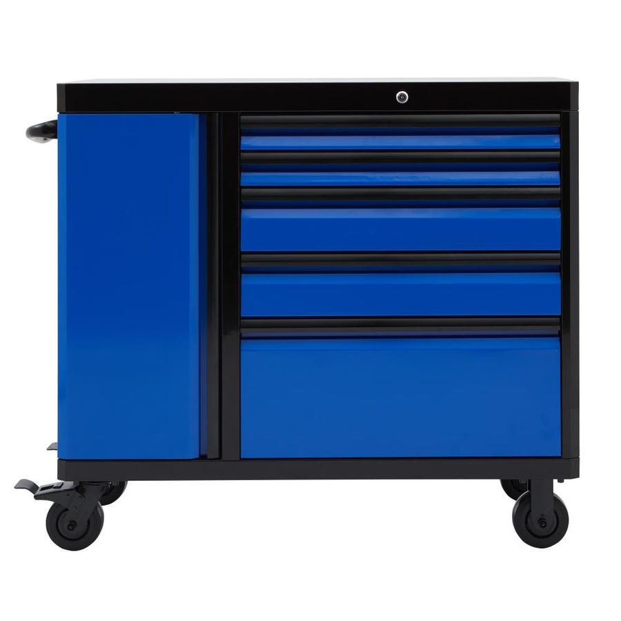 Shop kobalt 3000 49 in w x h 5 drawer ball for Living 3000 shop