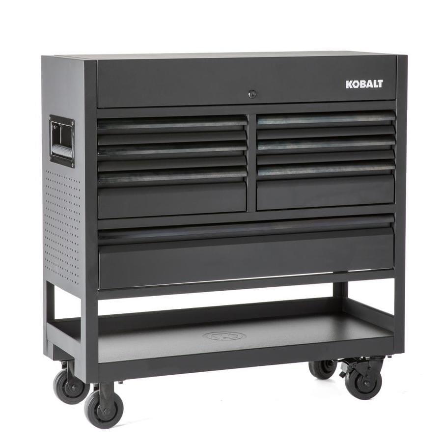 Kobalt 3000 45-in W x 47-in H 7-Drawer Steel Rolling Tool Cabinet