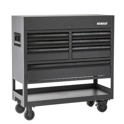 Fantastic 3000 45 In W X 47 In H 7 Drawer Steel Rolling Tool Cabinet Black Theyellowbook Wood Chair Design Ideas Theyellowbookinfo