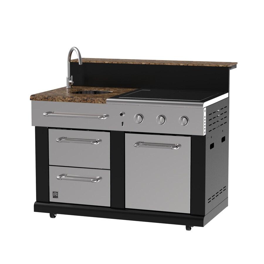 Modular Outdoor Kitchen 3-Burner BG179C Modular Sink
