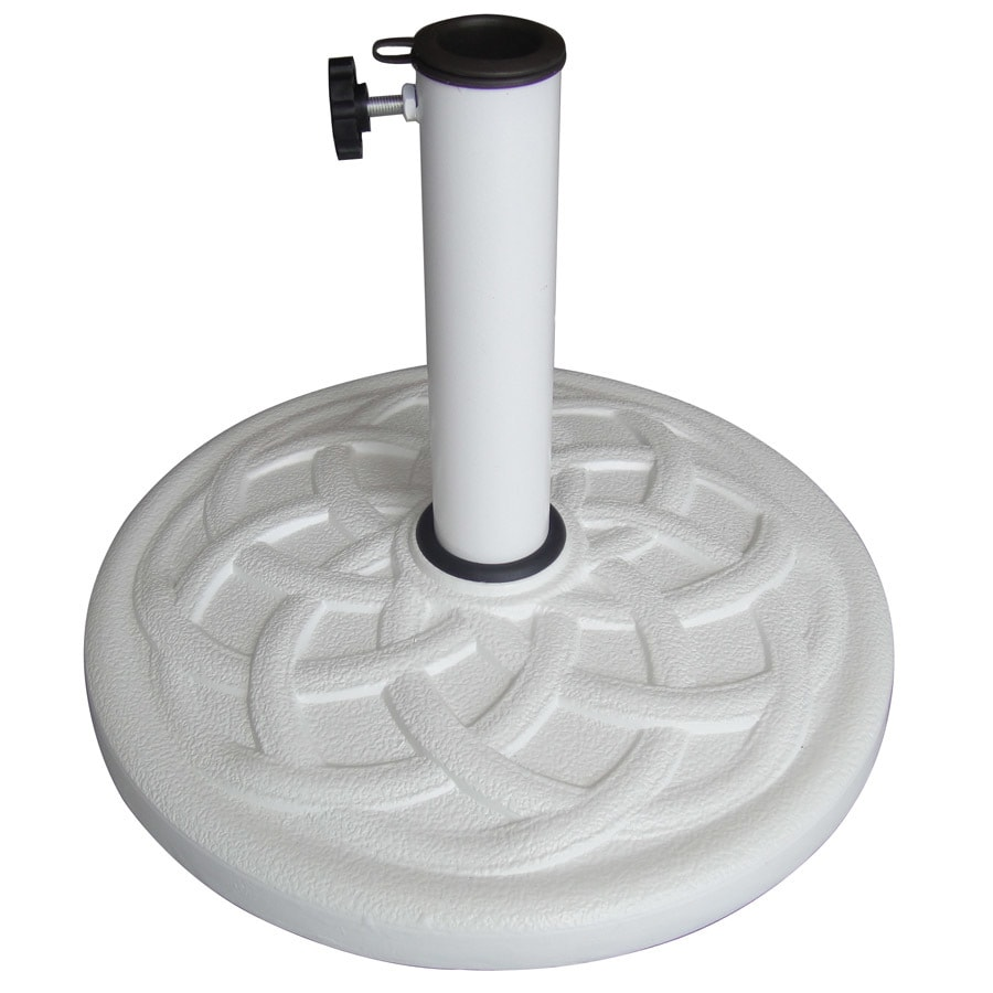 White Patio Umbrella Base - Shop White Patio Umbrella Base At Lowes.com