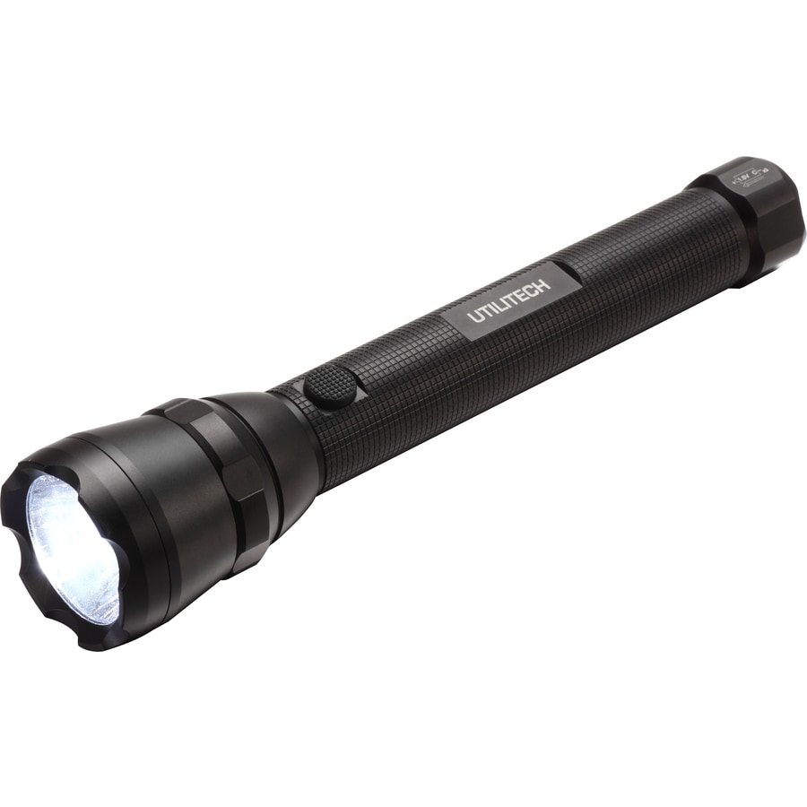 Utilitech 500-Lumen LED Handheld Battery Flashlight (Battery Included)