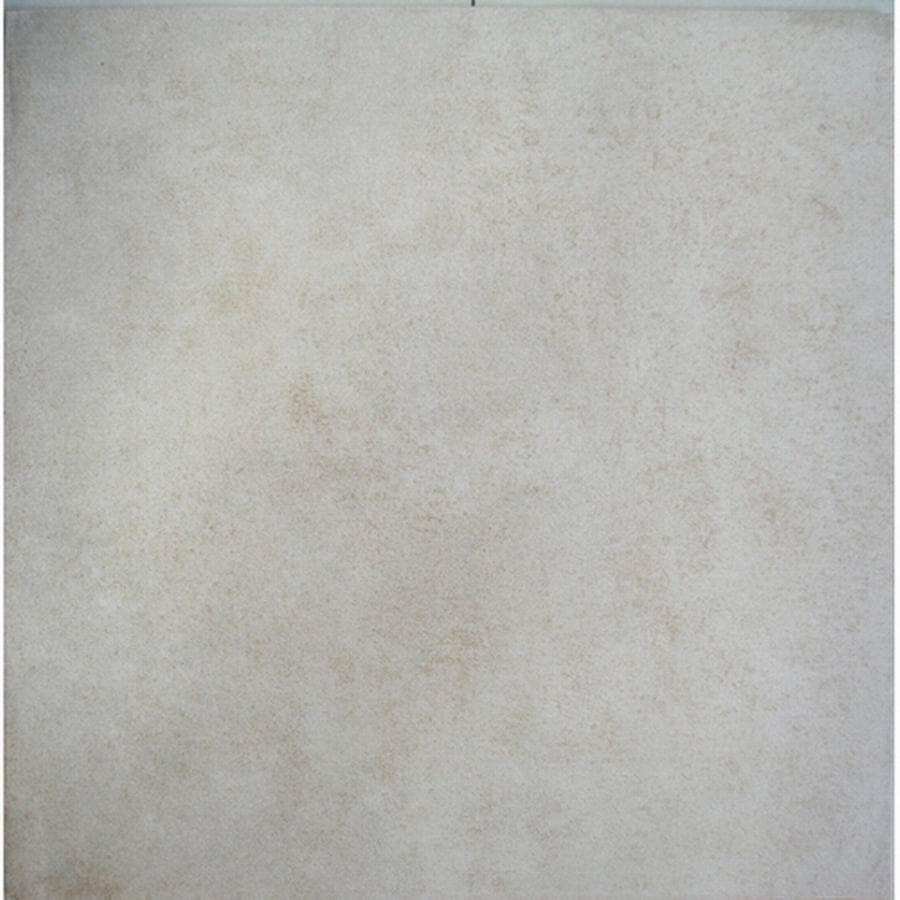Project Source Darlington Beige Darlington Beige/Matte Ceramic Tile (Common: 16-in x 16-in; Actual: 15.76-in x 15.76-in)