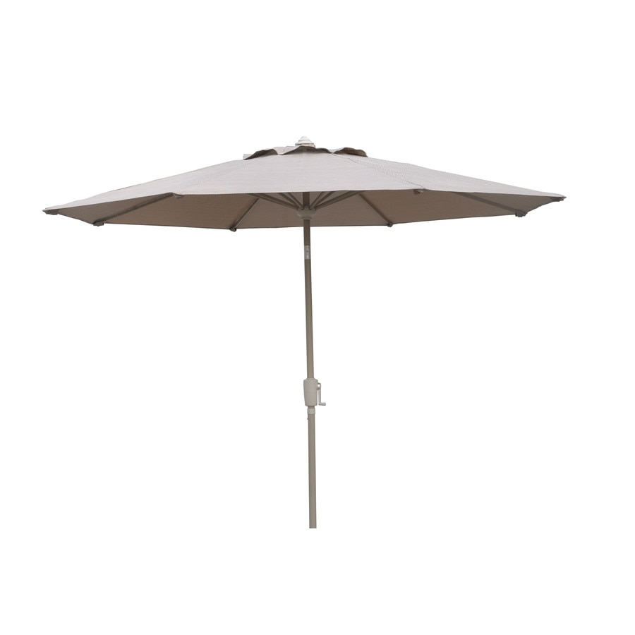 shop garden treasures driscol market patio umbrella