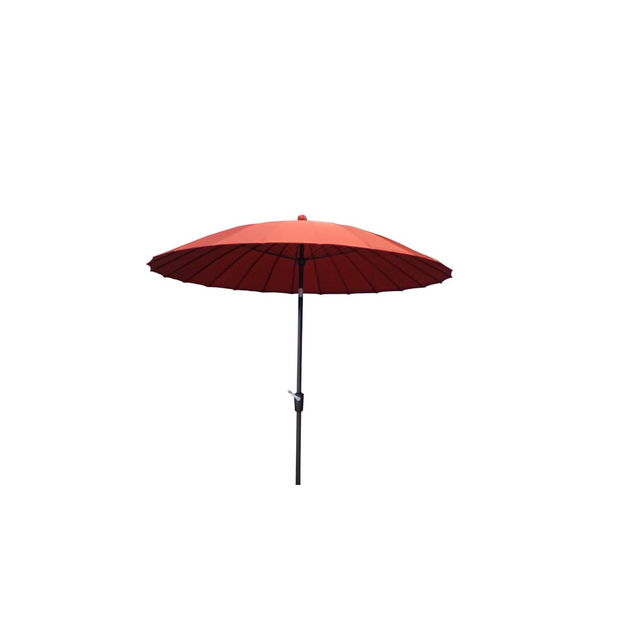 Garden Treasures Patio Umbrella (Actual: 98-in W x 98-in L - Shop Garden Treasures Patio Umbrella (Actual: 98-in W X 98-in L) At