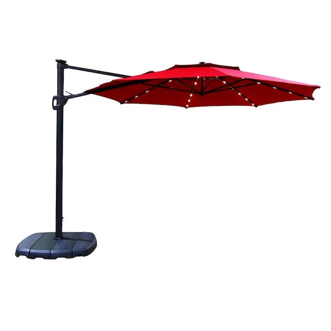 11 Ft Auto Tilt Octagon Patio Umbrella