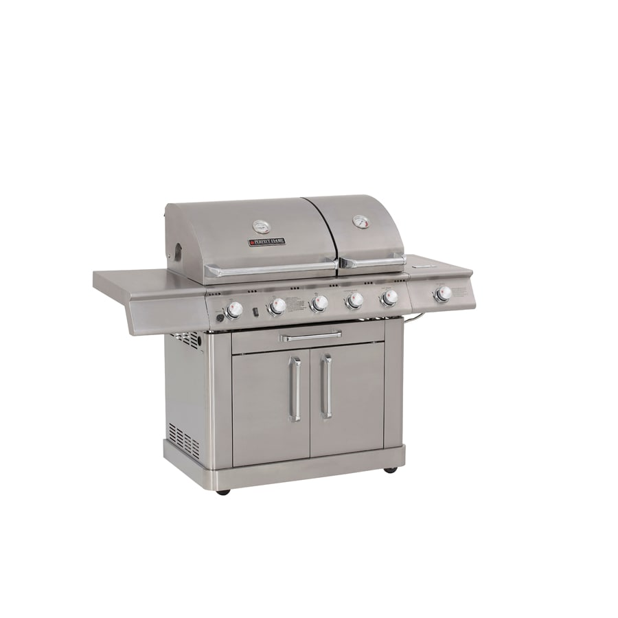 Perfect Flame Stainless Steel Grill