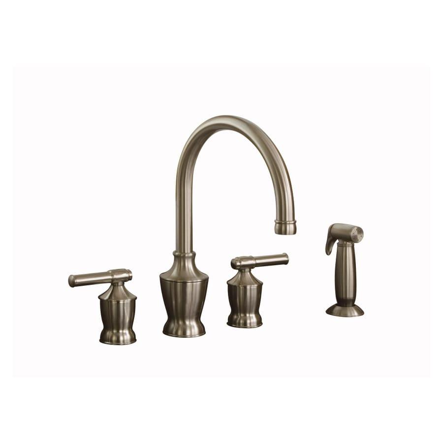 Shop Aquasource 2 Handle Kitchen Faucet At