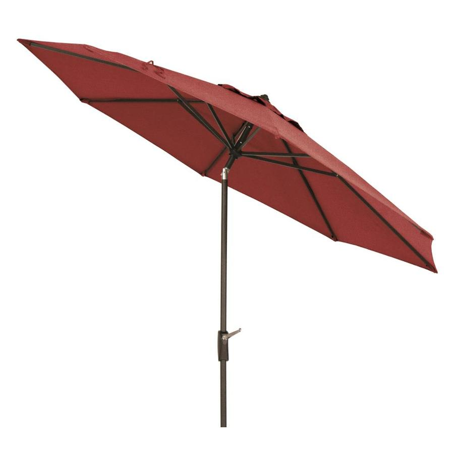 Simply Shade Red Market 9 Ft Patio Umbrella