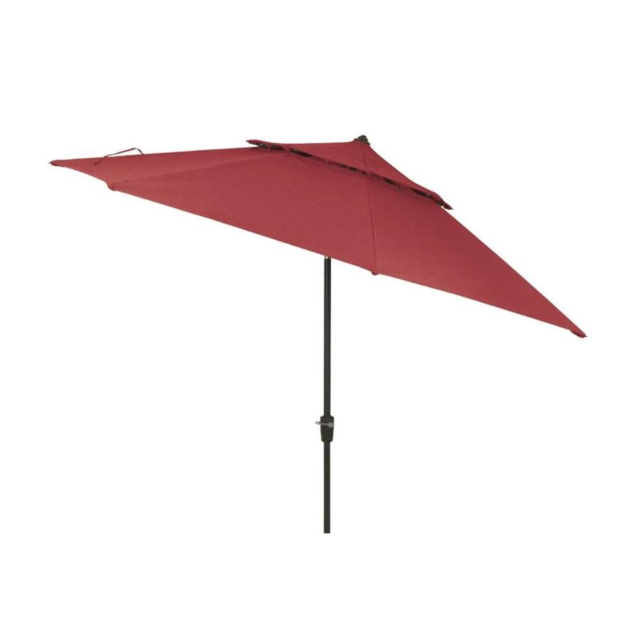 11 Ft Auto Tilt Octagon Patio Umbrella