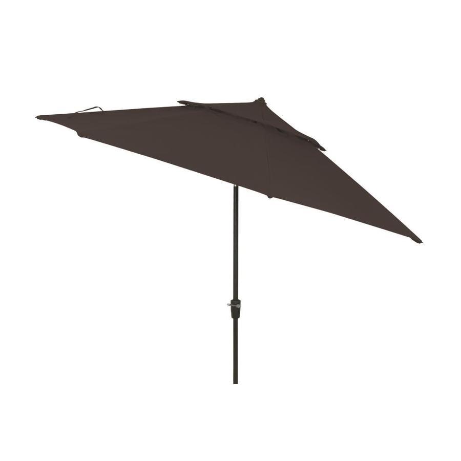simply shade black market 11 ft patio umbrella - Black Patio Umbrella