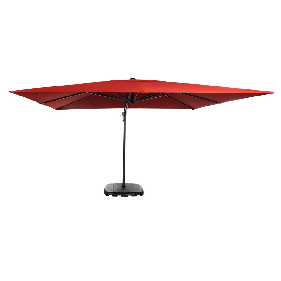 Simply Shade Ss 9 X 11 Ft Cantilever Ob2 Red At Lowes Com