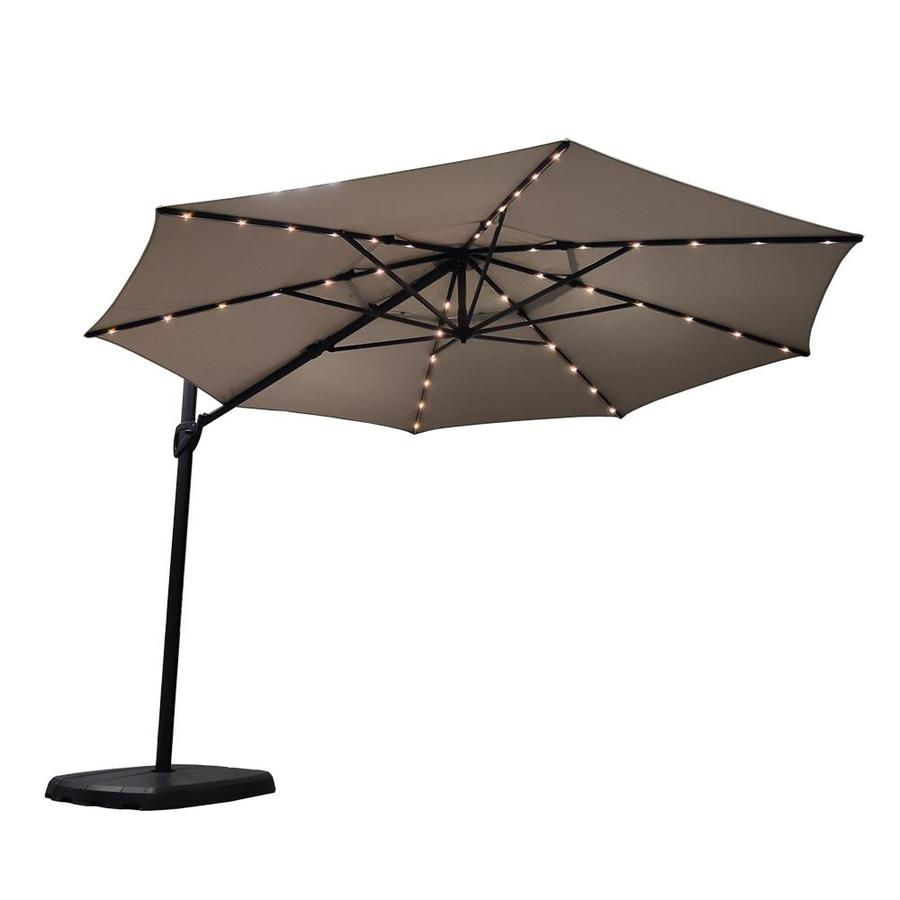 Simply Shade 11 Ft Octagon Greige With